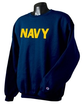 US NAVY MEN'S NAVY BLUE NEW CHAMPION SWEATSHIRT | eBay