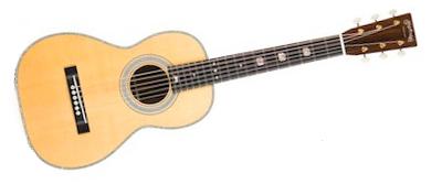 Martin Claire's Guitar