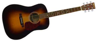 Martin HD-28 Sunburst