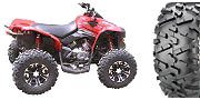 "25"" Maxxis Bighorn 2.0 tires with SS312 wheels on a 2009 Can-Am Renegade 800R"