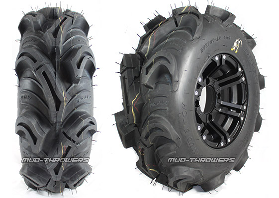 Super Grip Mud Bitch ATV Mud Tire, 27-9-12 Pictured