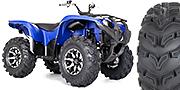 """27"""" GBC Dirt Devil tires with STI HD2 wheels on a Suzuki King Quad"""