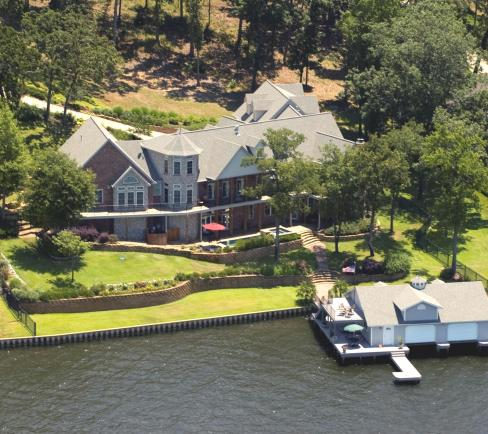 Bullard, Texas - Lake Palestine, Eagles Bluff, mansion ultimate water front house for sale!