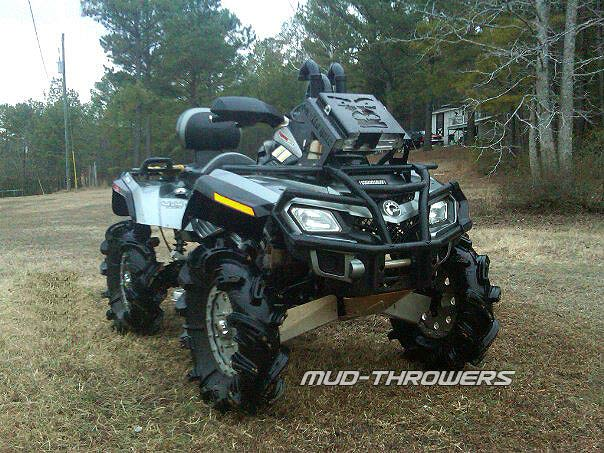 Yamaha Grizzly 660 >> will crushed 29.5s fit on a 2014 700 - Yamaha Grizzly ATV ...
